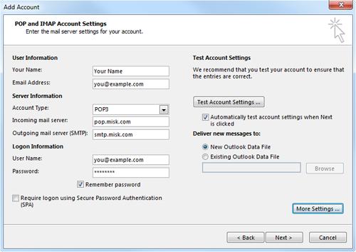 Outlook 2013 - Misk.com